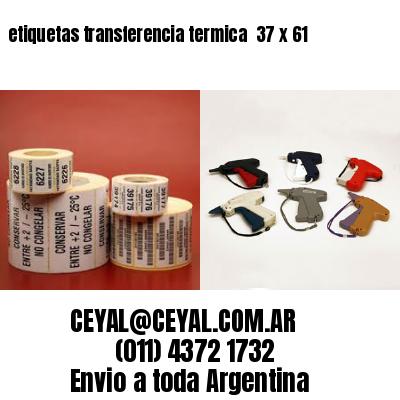 etiquetas transferencia termica  37 x 61