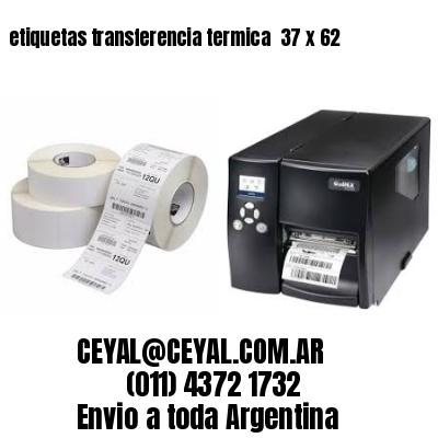 etiquetas transferencia termica  37 x 62
