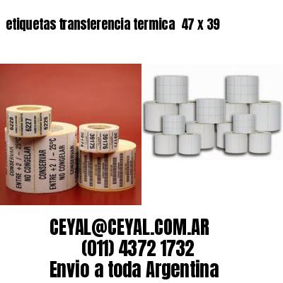 etiquetas transferencia termica  47 x 39