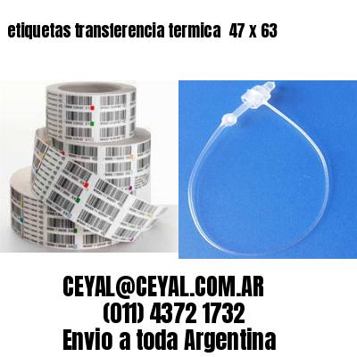 etiquetas transferencia termica  47 x 63