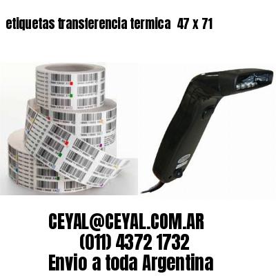 etiquetas transferencia termica  47 x 71