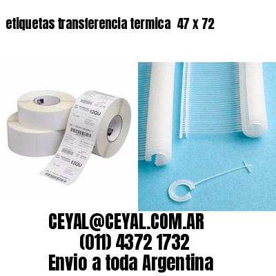 etiquetas transferencia termica  47 x 72