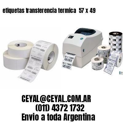 etiquetas transferencia termica  57 x 49