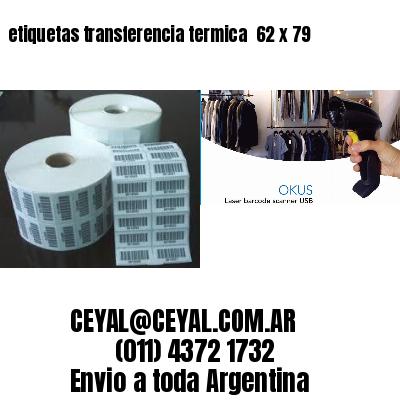 etiquetas transferencia termica  62 x 79