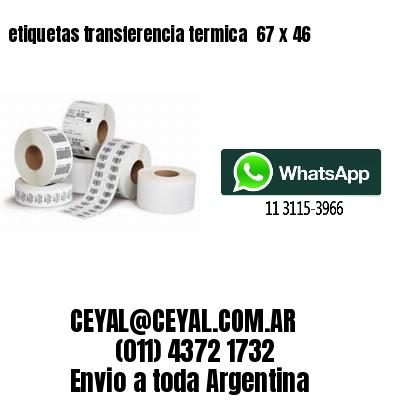 etiquetas transferencia termica  67 x 46