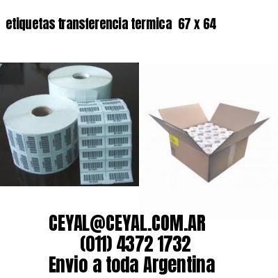 etiquetas transferencia termica  67 x 64