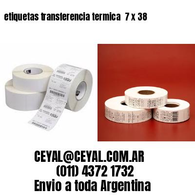 etiquetas transferencia termica  7 x 38