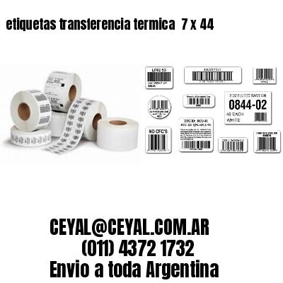 etiquetas transferencia termica  7 x 44
