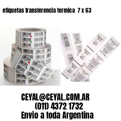 etiquetas transferencia termica  7 x 63