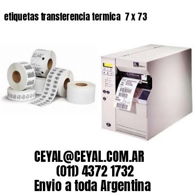 etiquetas transferencia termica  7 x 73