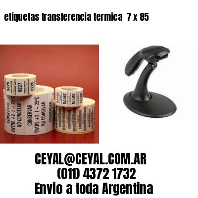 etiquetas transferencia termica  7 x 85