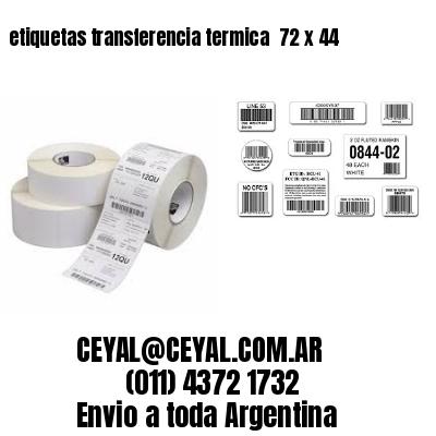 etiquetas transferencia termica  72 x 44