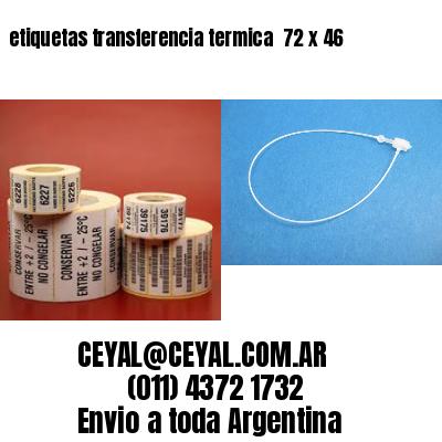 etiquetas transferencia termica  72 x 46