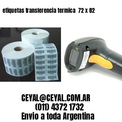 etiquetas transferencia termica  72 x 82