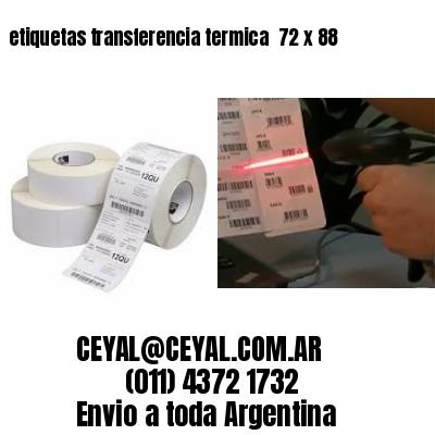 etiquetas transferencia termica  72 x 88