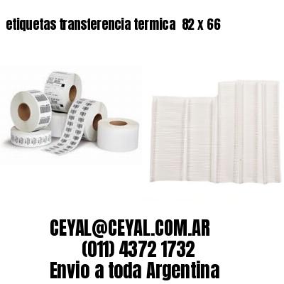 etiquetas transferencia termica  82 x 66
