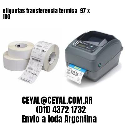 etiquetas transferencia termica  97 x 100