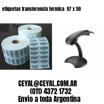 etiquetas transferencia termica  97 x 50