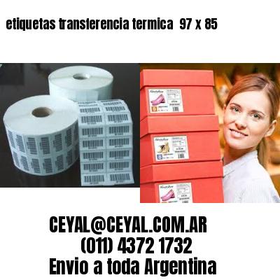 etiquetas transferencia termica  97 x 85