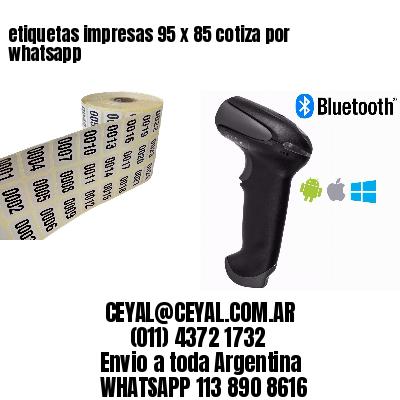 etiquetas impresas 95 x 85 cotiza por whatsapp