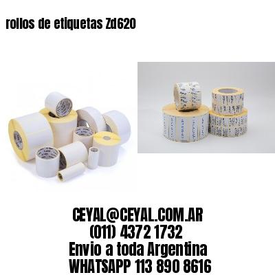 rollos de etiquetas Zd620