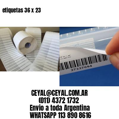 etiquetas 36 x 23