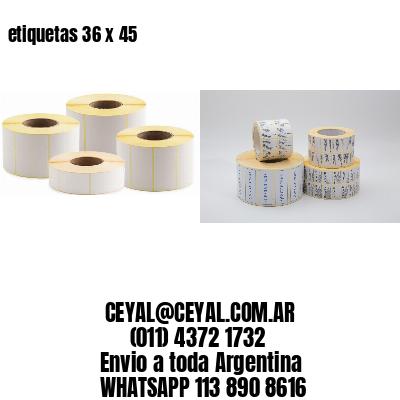 etiquetas 36 x 45