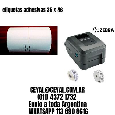 etiquetas adhesivas 35 x 46