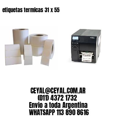 etiquetas termicas 31 x 55