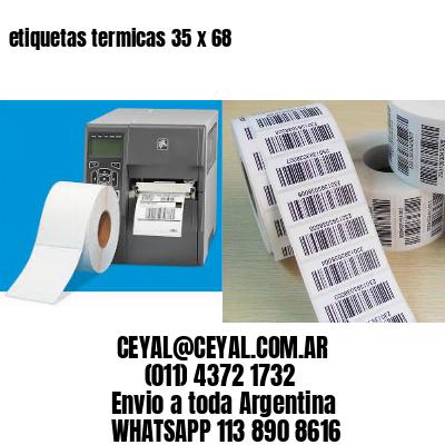etiquetas termicas 35 x 68