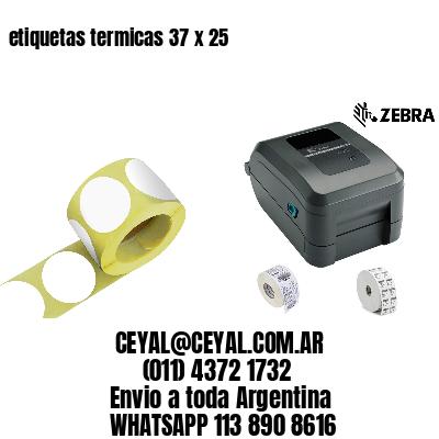 etiquetas termicas 37 x 25