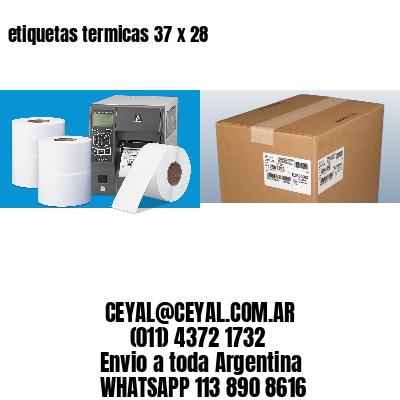 etiquetas termicas 37 x 28