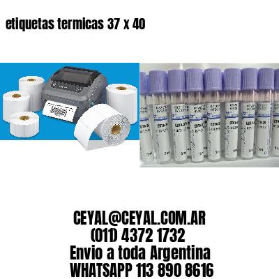 etiquetas termicas 37 x 40