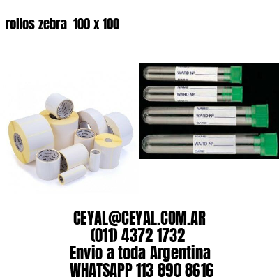 rollos zebra  100 x 100