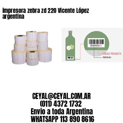 impresora zebra zd 220 Vicente López argentina