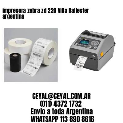 impresora zebra zd 220 Villa Ballester argentina