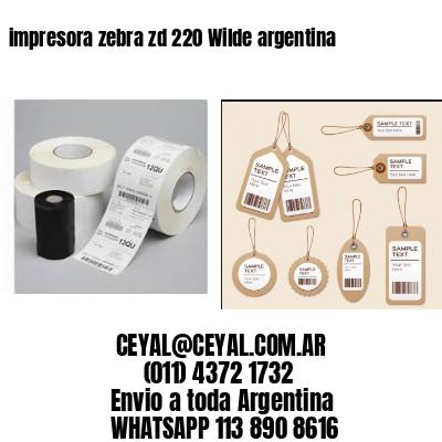 impresora zebra zd 220 Wilde argentina