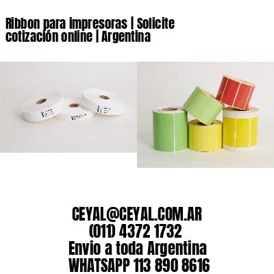 Ribbon para impresoras | Solicite cotización online | Argentina