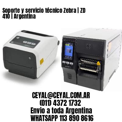 Soporte y servicio técnico Zebra | ZD 410 | Argentina