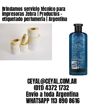 Brindamos servicio técnico para impresoras Zebra   Productos - etiquetado perfumería   Argentina