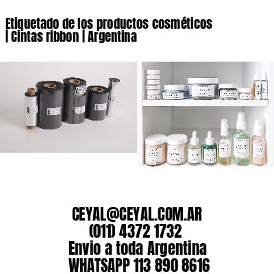 Etiquetado de los productos cosméticos   Cintas ribbon   Argentina