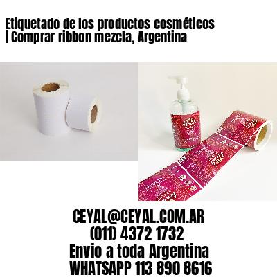 Etiquetado de los productos cosméticos | Comprar ribbon mezcla, Argentina