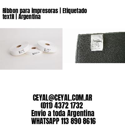 Ribbon para impresoras | Etiquetado textil | Argentina