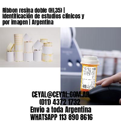 Ribbon resina doble (HL35) | Identificación de estudios clínicos y por imagen | Argentina