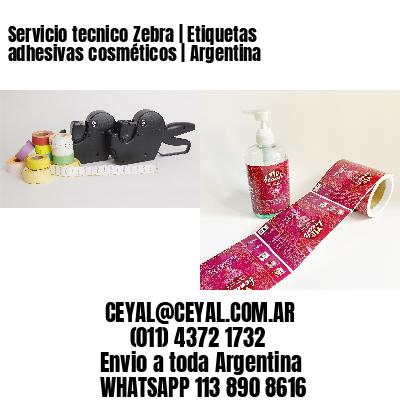 Servicio tecnico Zebra   Etiquetas adhesivas cosméticos   Argentina
